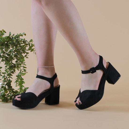 Immagine di TATOO - Sandalo spuntato con cinturino e tacco largo  8,5 CM