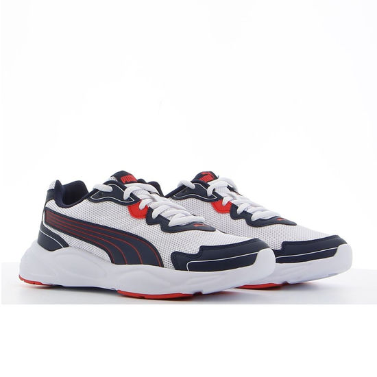Immagine di PUMA - SCARPA 90S RUNNER NU WAVE P WHT-NAVY-RED