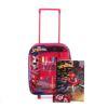 Immagine di SPIDERMAN - Trolley con colori, album e adesivi