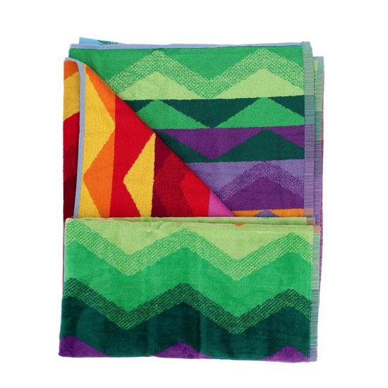Immagine di SUMMER - Telo mare multicolor in cotone, 90X170CM