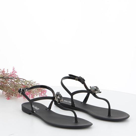 Immagine di BACHATA - Sandalo infradito con dettaglio diamante e cinturino alla caviglia