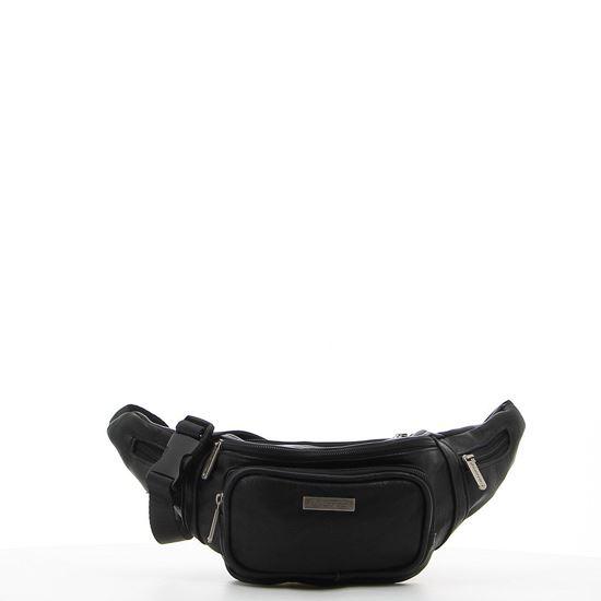 Immagine di LOTTO – Marsupio nero con 5 tasche