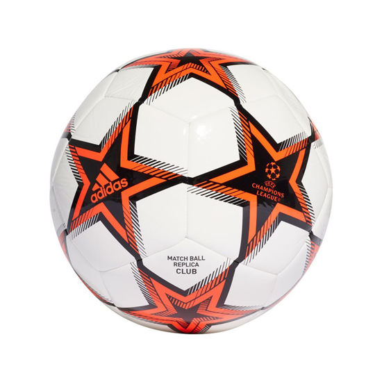 Immagine di ADIDAS - PALLONE UCL CLB PS WHITE-BLACK-RED - GT7789